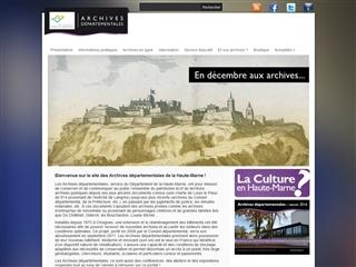 Haute-Marne (52) - Archives départementales