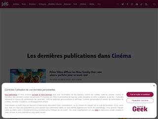 Journal du Geek : cinéma