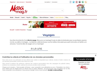 MAXImag : Voyages