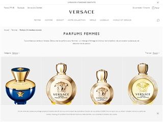 Versace : Parfums