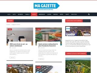 Ma Gazette : Finance