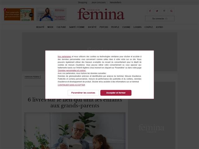 Version Femina : Famille