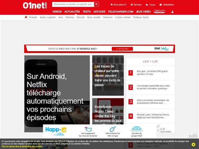 01net forum hightech