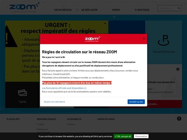 Chalon-sur-Saône : Bus Zoom